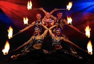 Awesome Fire Dance Show