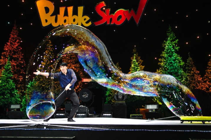 Awesome & excting Bubble Show