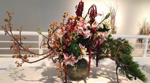 Wonderful Ikebana  Floral Designs by DaSilva's Creations