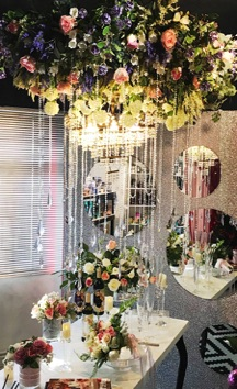 Stunning Ceiling & Table Top Floral Designs by DaSilva's Creations